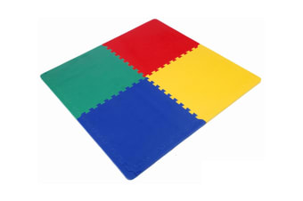 TikkTokk Safety PlayMat - Multi Coloured