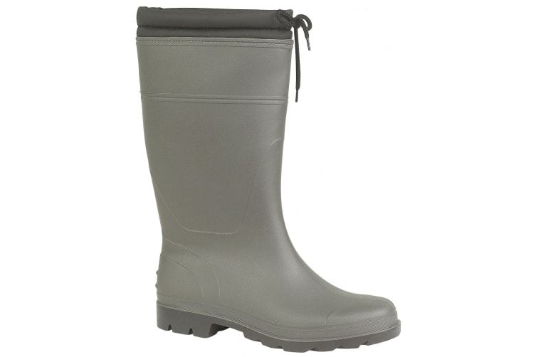 Mirak Vapour Waterproof Wellington / Ladies Boots / Textile/Weather Wellingtons (Green) (37 EUR)