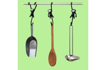 Just Hanging Monkey Kitchen Hooks | Set of 3