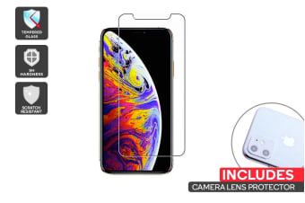 iPhone 11 Screen Protector + Camera Lens Protector Pack