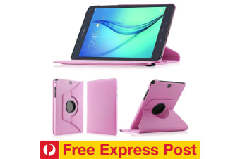 "Samsung Galaxy Tab A 7.0"" Rotating 360 PU Leather Stand Case Smart Cover by MEZON (SM-T280, T285, Pink) – FREE EXPRESS"