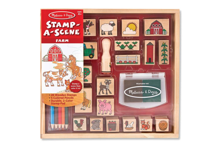 Melissa & Doug Farm Life Stamp Set