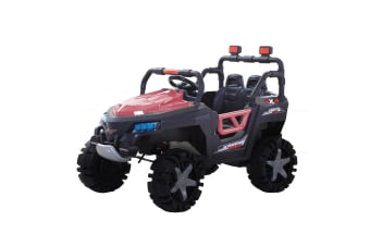BoPeep 12V Kids Electric Ride on Car Jeep Toys Off Road Built-in Songs Gift Pink