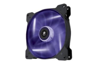 Corsair Air Flow 140mm Fan Quiet Edition w/Purp LED 3 PIN - Superior cooling performance and LED illumination