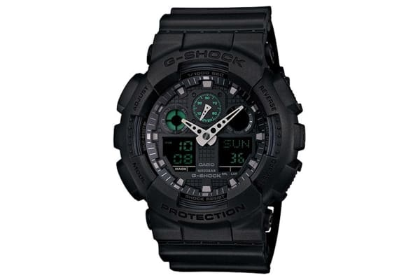 Casio G-Shock Ana-Digital Watch - Matte Black (GA100MB-1A)