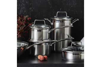 Scanpan Impact Saucepan Set, 3pc