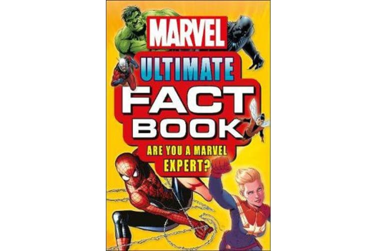 Marvel Ultimate Fact Book - Become a Marvel Expert!