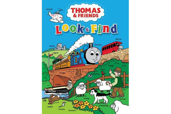 Thomas & Friends Look and Find