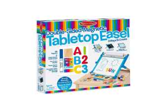 Melissa and Doug Double Sided Table Top Art Easel
