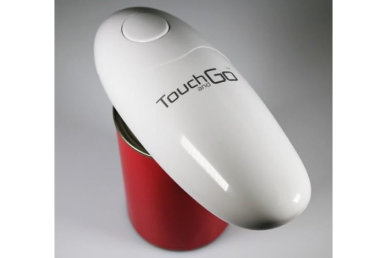 Touch And Go Electric Can Opener White