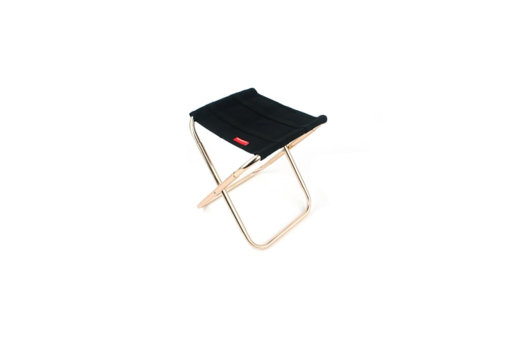 Portable Lightweight Aluminum Alloy Fishing Chair Compact Folding Camp Chair