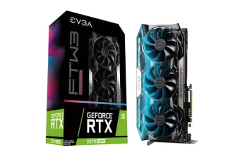 EVGA GeForce RTX 2070 SUPER FTW3 Ultra RGB 8GB GDDR6 Graphics Card