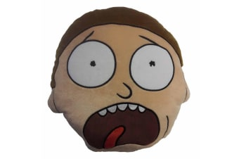 Rick And Morty Character Face Cushion (Morty)