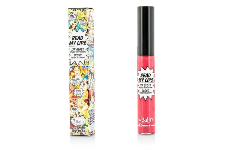TheBalm Read My Lips (Lip Gloss Infused With Ginseng) - #Pow! 6.5ml