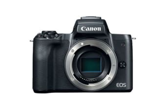 New Canon EOS M50 Body Digital Cameras Black (FREE DELIVERY + 1 YEAR AU WARRANTY)