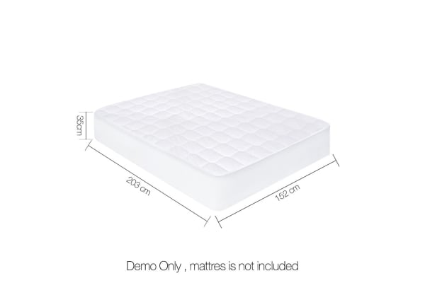 Cotton Cover Mattress Protector (Queen)