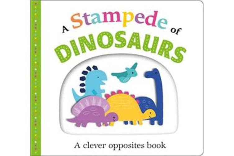 A Stampede of Dinosaurs - Picture Fit (Large)