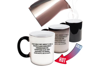 123T Funny Colour Changing Mugs - Iveonlymetpeopleangrysarcasticmugfunny