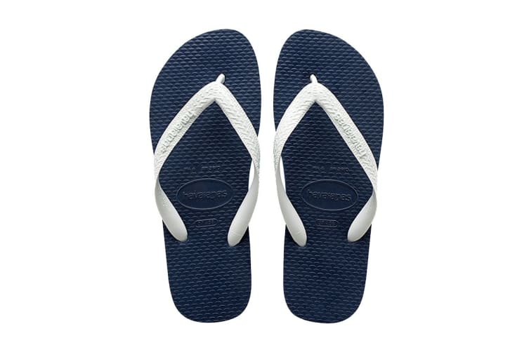 Havaianas Color Mix Thongs (Navy Blue/White, Size 37/38 BR)