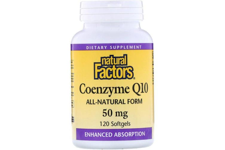 Natural Factors Coenzyme Q10 - 50mg, 120 Softgels