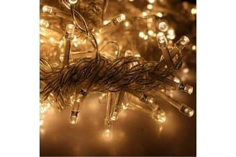 300/800 Led Curtain Fairy Lights Wedding Indoor Outdoor Christmas Garden Party Warm White