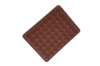 Diy Baking Chocolate Silica Gel Mould With 48 Holes Round - Chocolate