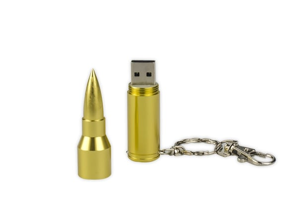 8GB Bullet Shaped USB Flash Drive