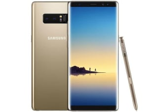 Used as Demo Samsung Galaxy Note 8 N950F Gold 64GB (AU STOCK, AU MODEL, 100% Genuine)