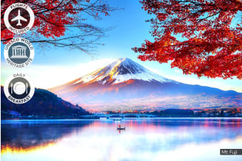 JAPAN: 11 Day Best Of Japan Tour Including Flights For Two