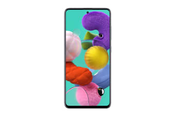 Samsung Galaxy A51 Dual SIM (4GB RAM, 128GB, Prism Crush Black)