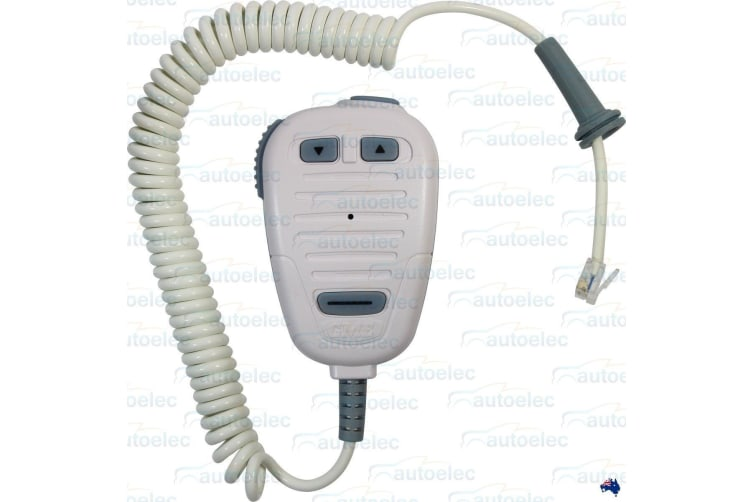 GME ELECTROPHONE NEW MICROPHONE WITH CABLE FOR GX600 MARINE RADIO MC511W