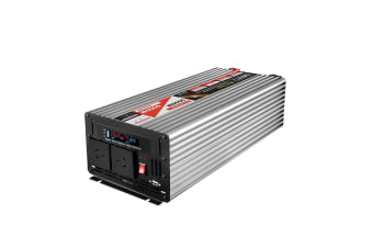 3000W/6000W Pure Sine Wave Power Inverter 12V-240V Remote Camping Boat