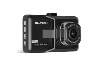 UL Tech 3 Inch Dash Cam - Black