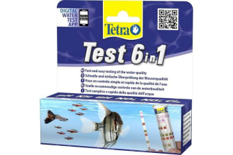 Tetra 6 In 1 Water Test Strips (May Vary)