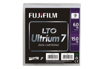 FujiFilm LTO7 ULTRIUM 7 DC (Barium Ferrite) Data Cartridge 750 MB/sec 15.0 TB ( 6.0 TB for