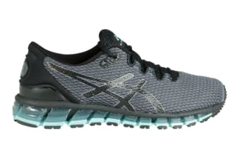 ASICS Women's Gel-Quantum 360 SHIFT MX Running Shoe (Carbon/Black/Aruba Blue)