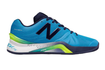 New Balance Men's 1296v2 - 2E Shoe (Blue/Pigment, Size 8.5)