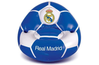 Real Madrid CF Inflatable Chair (Blue/White)