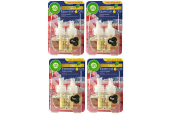8pc Air Wick 19ml Essential Oils for Electric Diffuser Refill Mystical Garden
