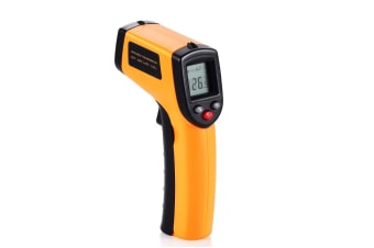 Infrared Thermometer, Laser Infrared Thermometer Temperature Gun with LCD Display