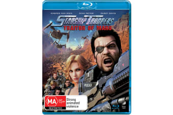 Starship Troopers Traitor of Mars Blu-ray Region B