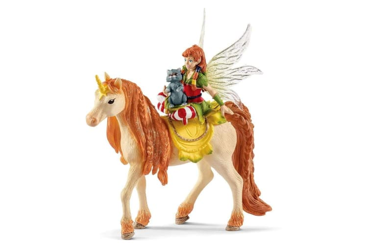 Schleich Bayala Fairy Marween with Glitter Unicorn