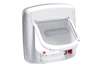 Petsafe Staywell Infra Red 4 Way Locking Deluxe Cat Flap (White) (One Size)