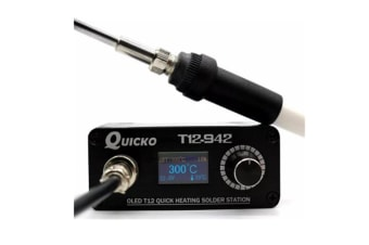 Select Mall MINI OLED Digital Soldering Station T12-907 Handle with T12-K Iron Tips Welding Tool?