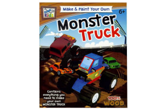Make And Paint Your Own Monster Truck