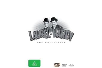 Laurel and Hardy The Collection Box Set DVD Region 4