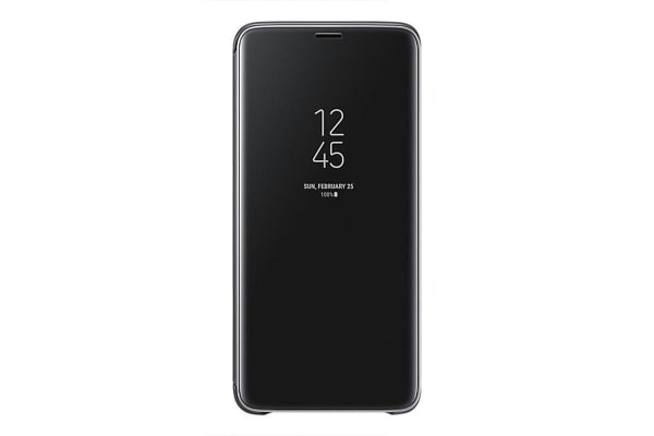 Samsung Galaxy S9+ Plus Clear View Standing Cover - Black