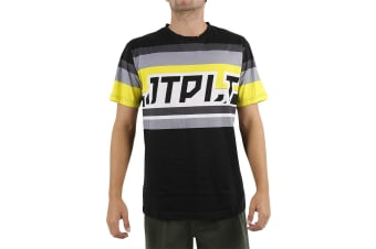 JetPilot Scalp Mens Hydro Tee - Black - Small