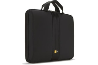 "Case Logic EVA Case for 13.3"" Chromebooks/Ultrabooks - Carrying Handle - Black"
