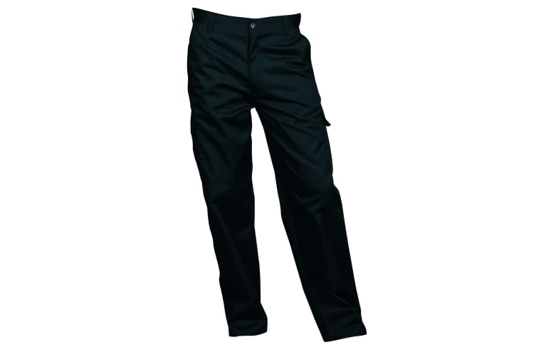 Portwest Mens Combat Workwear Trousers (Black) (38/L)
